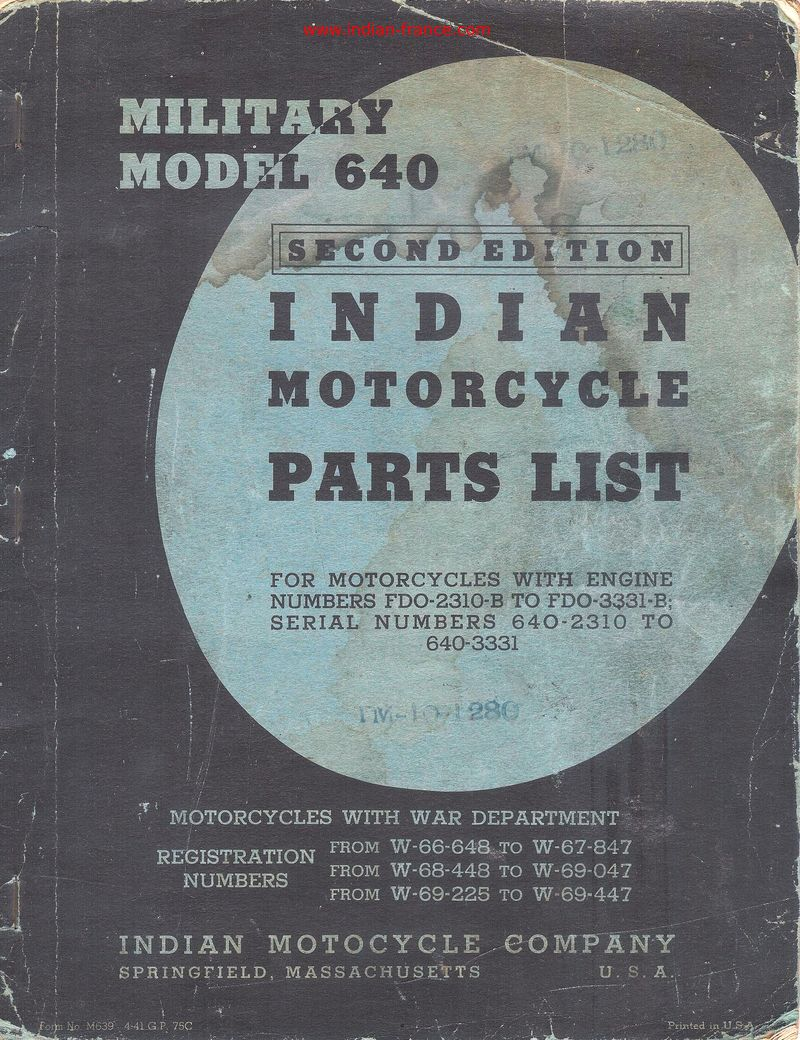 Services Manuals And Parts Lists Harley Motorcycle Engine Diagram Indian Davidson Others Service Documentations Diverses